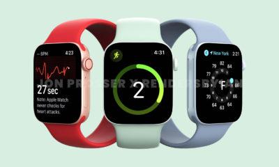 Apple Watch Series 7 filtración diseño colores