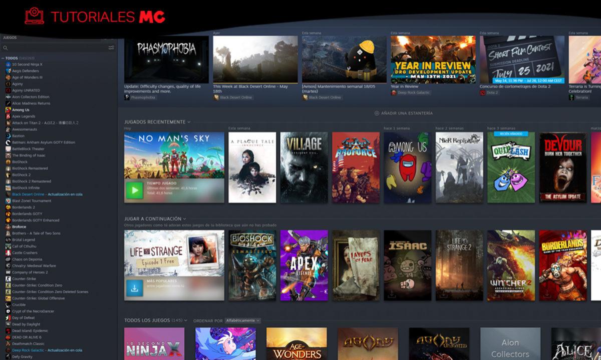 Cómo compartir juegos préstamo familiar de Steam