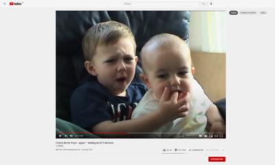 Charlie Bit My Finger YouTube subasta NFT