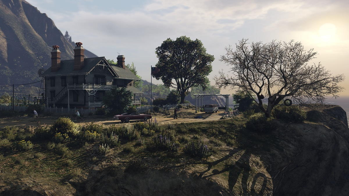 GTA V para PS5 y Xbox Series X