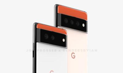 Google Pixel 6 y Pixel 6 Pro Renders
