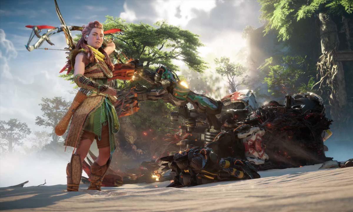 Horizon Forbidden West Gameplay PS5