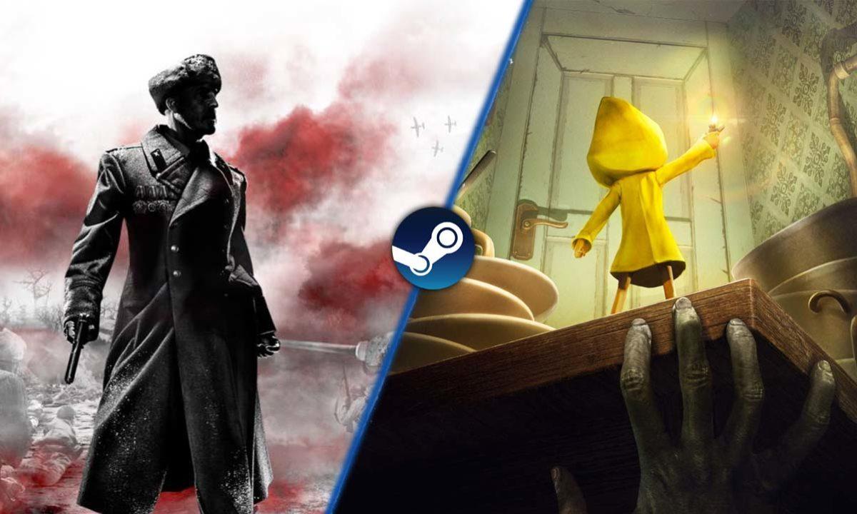 Juegos Gratis Steam Little Nightmares y Company of Heroes 2