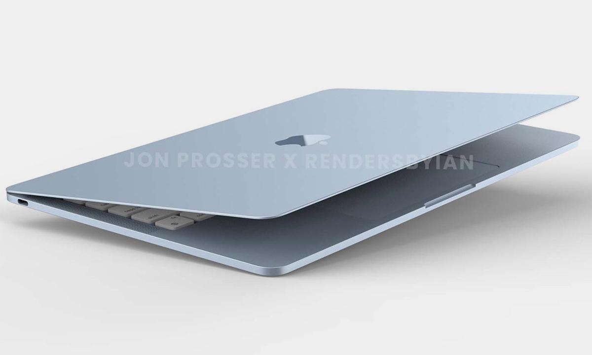 El nuevo MacBook Air llegará con diseño renovado y el SoC M2
