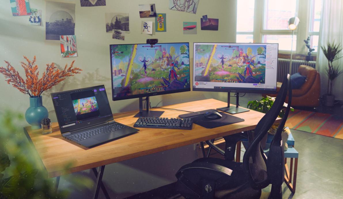 HP actualiza su línea de equipos gaming con nuevos OMEN y el estreno de la serie Victus 41