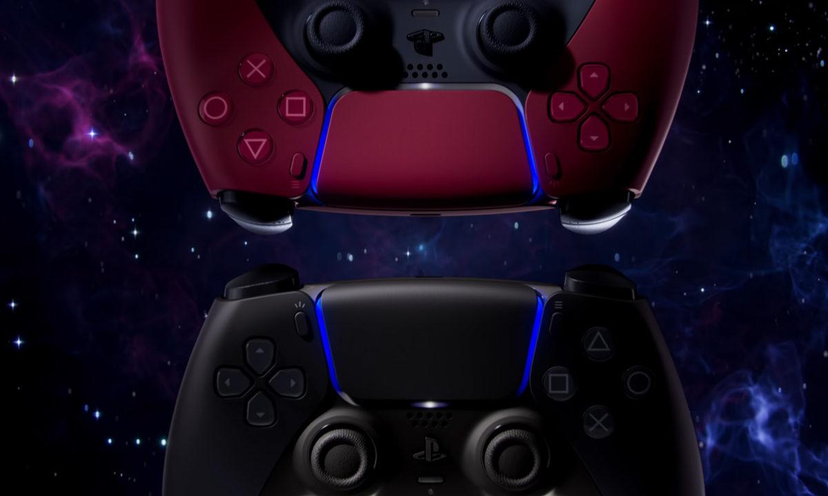 PS5 DualSense Colores Negro Rojo Midnight Black y Cosmic Red