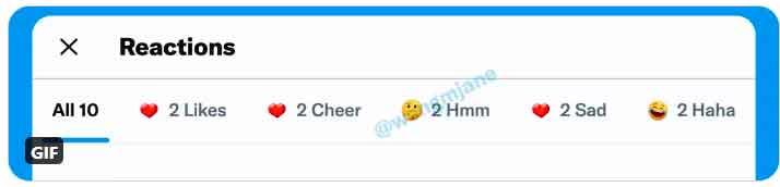 Twitter ya está preparando las reacciones al estilo de Facebook