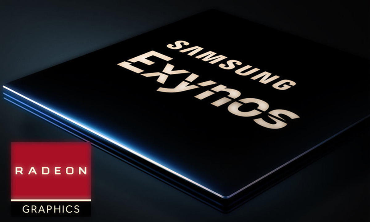 Samsung Exynos para portátiles AMD RDNA 2