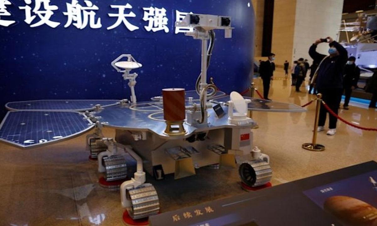 Tianwen-1 rover Zhurong Marte