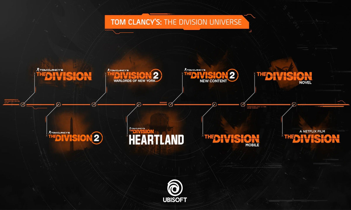 Ubisoft The Division Hearland mobile