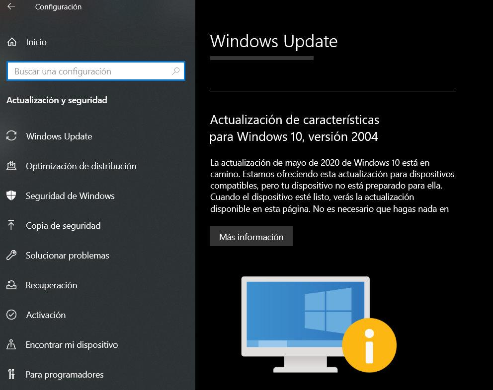 Windows 10 20H1 y 20H2 ya disponibles para todos los usuarios