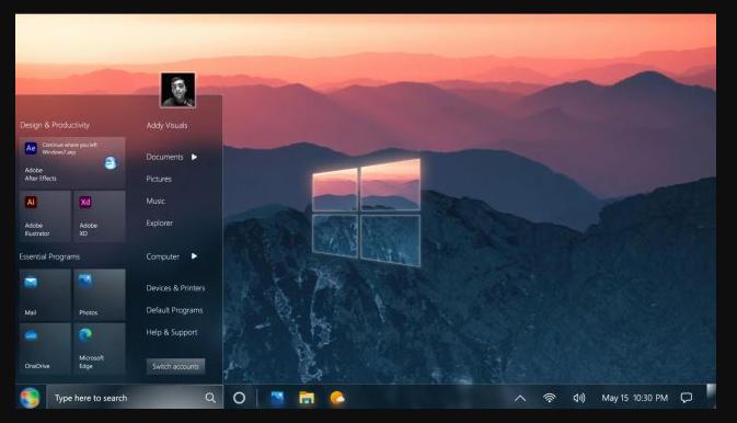 Windows 7 2021 Edition: así de chulo se vería hoy uno de los mejores sistemas de Microsoft 30
