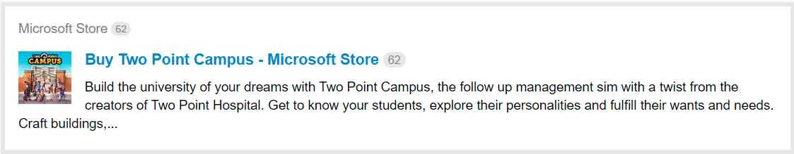 Microsoft confirma, por error, Two Point Campus