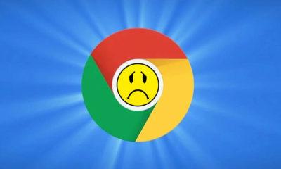 fallo de Google Chrome