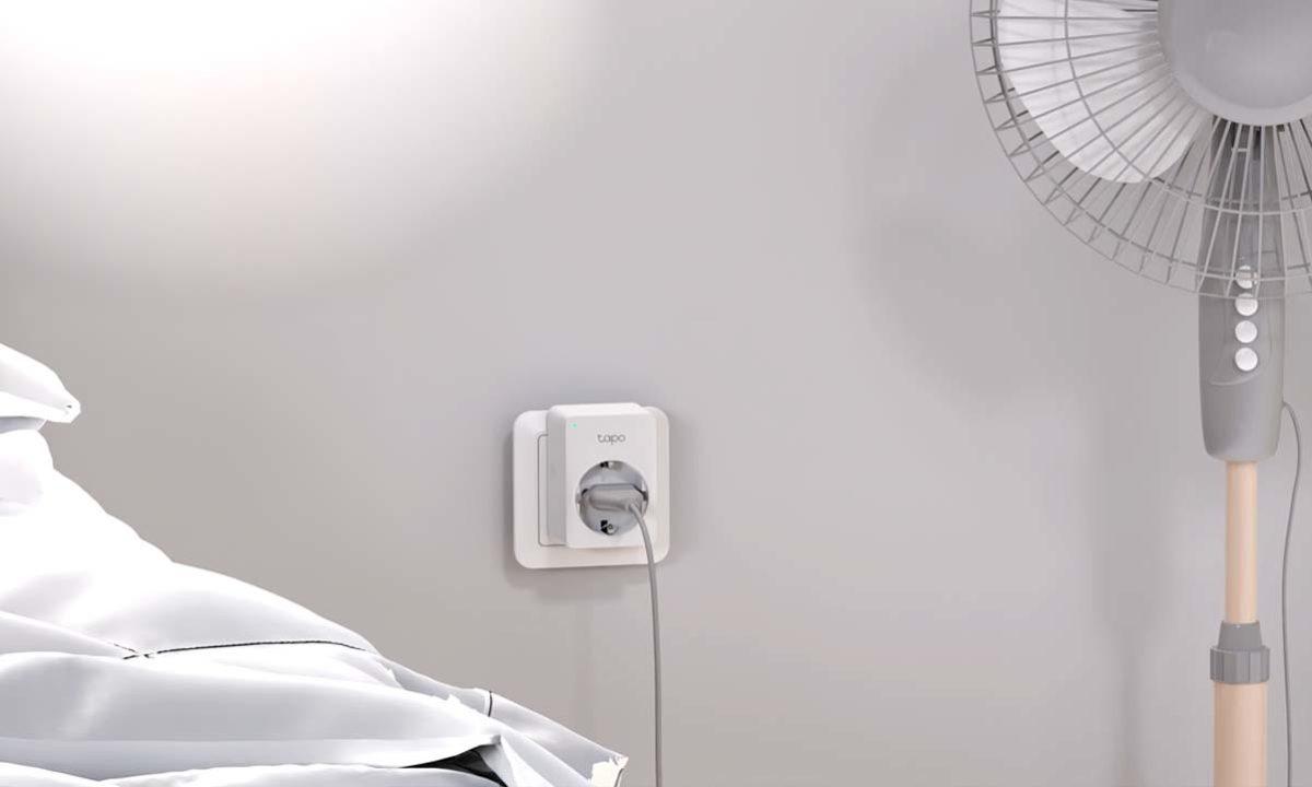 Enchufes inteligentes TP-Link Tapo smart home factura de la luz