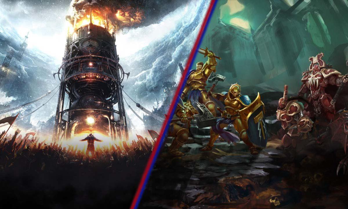 Frostpunk y Warhammer Underworlds Juegos Gratis Epic y Steam