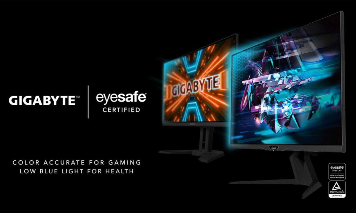 Gigabyte Eyesafe monitores gaming