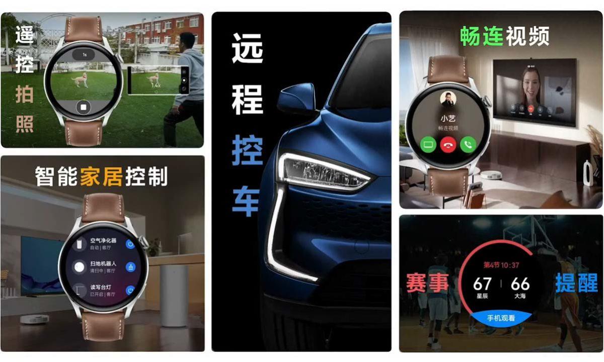 HarmonyOS Huawei Watch 3 Pro