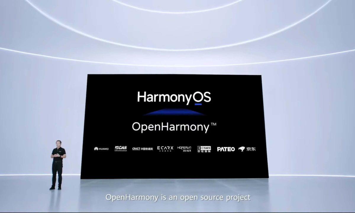 Huawei HarmonyOS OpenHarmony open source