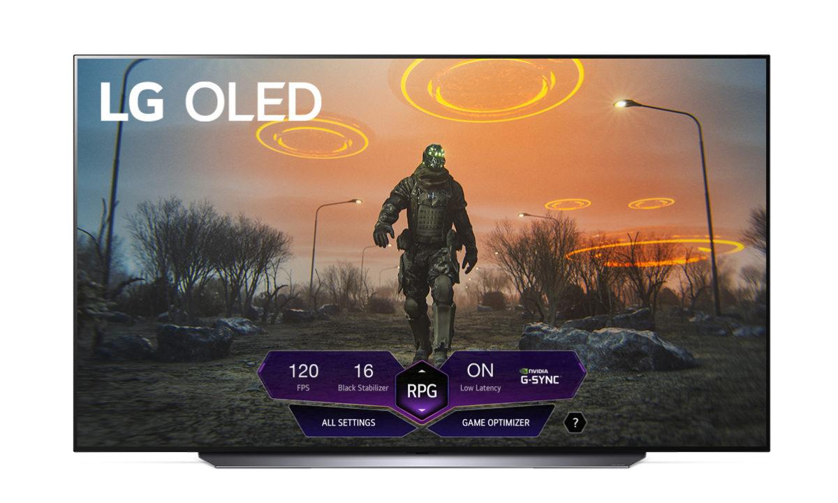 LG OLED TV Gaming Dashboard