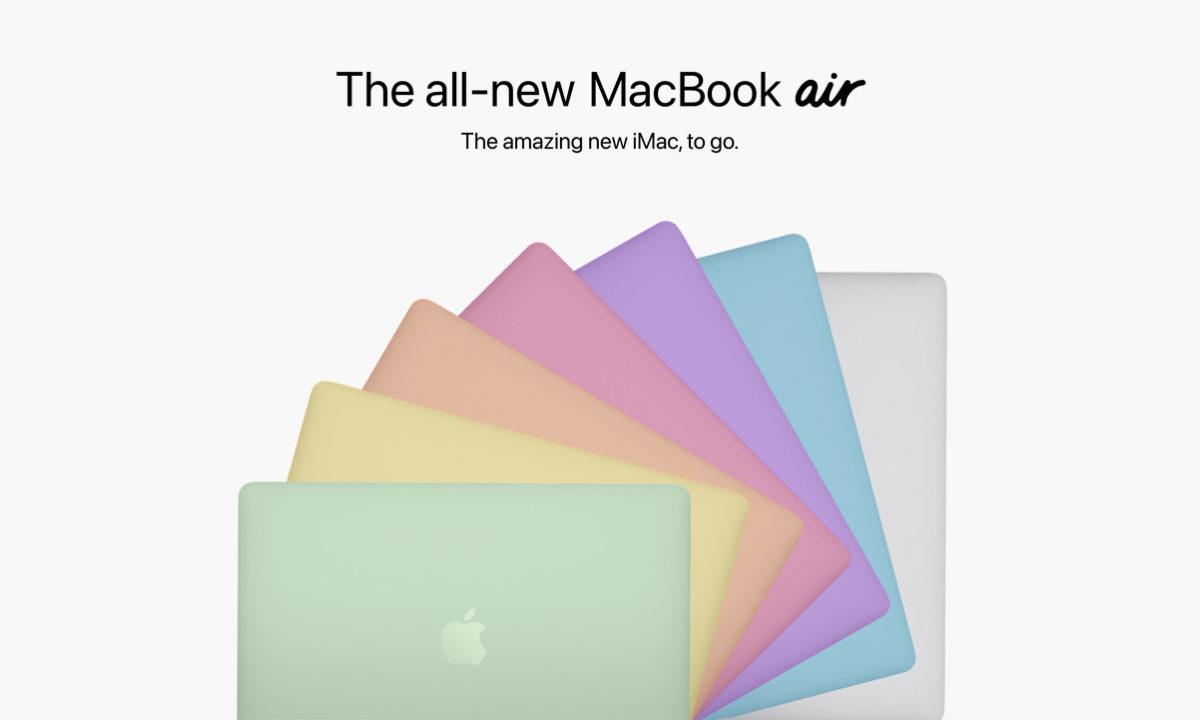 MacBook Air 2021 rediseño colores