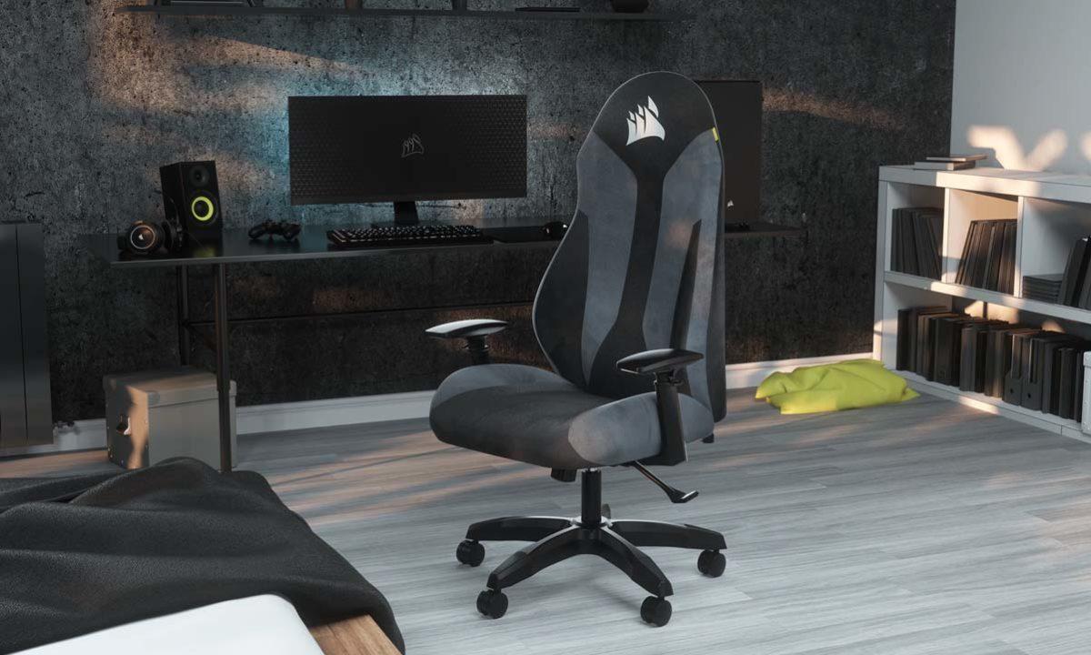 Silla gaming Corsair TC60 Fabric