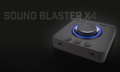 Sound Blaster X4 Tarjeta de sonido PC