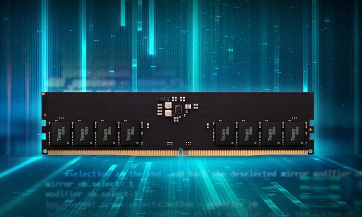 Teamgroup anuncia su primera memoria RAM DDR5 compatible con Intel Alder Lake-S 30
