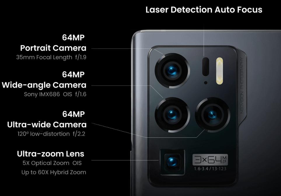 ZTE Axon 30 Ultra: llega otro 'superphone' de máximo nivel 30