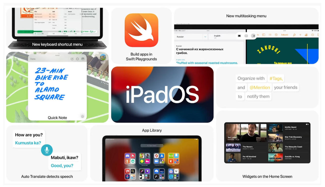 Apple Introduces iPadOS 15 at WWDC 40