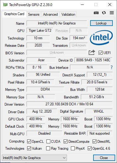 Acer Swift 3 (2021) análisis: el valor del equilibrio 37