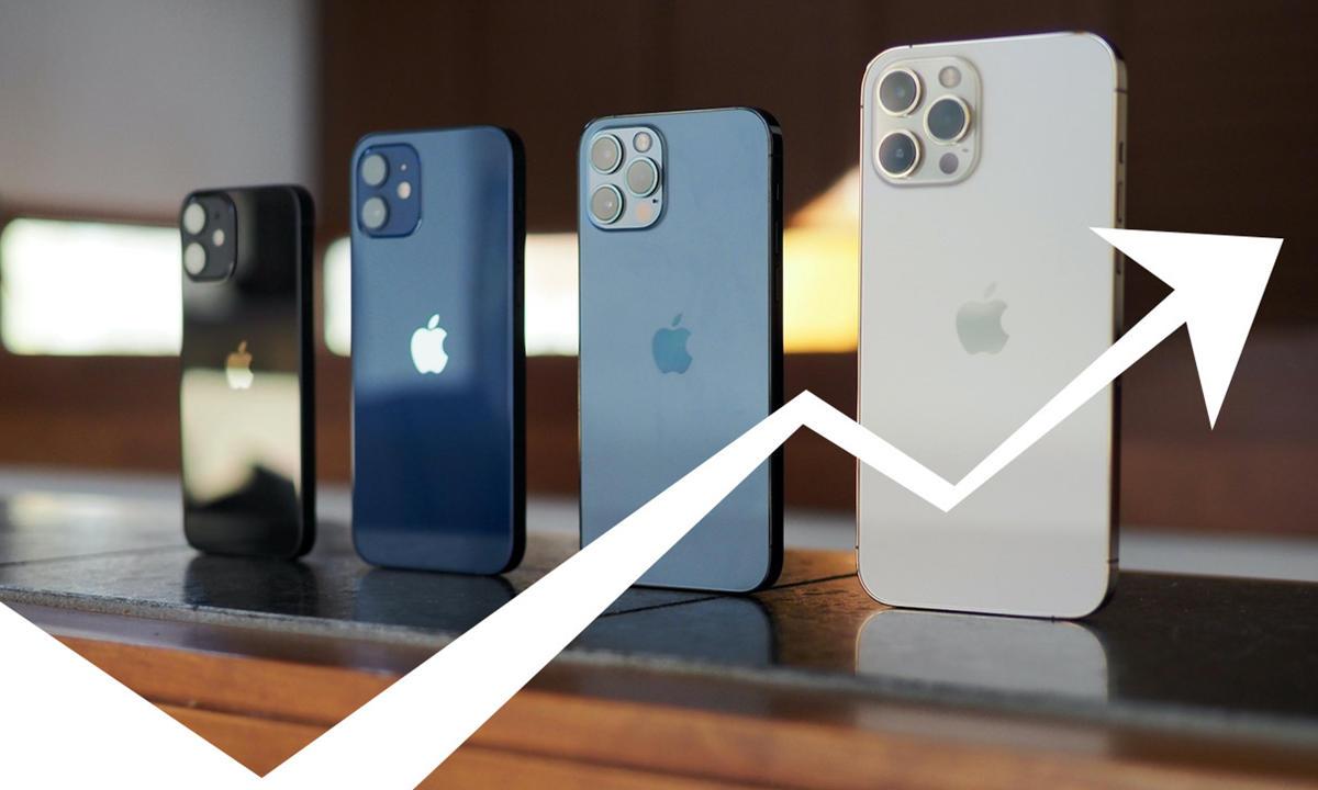 versiones de iPhone 13