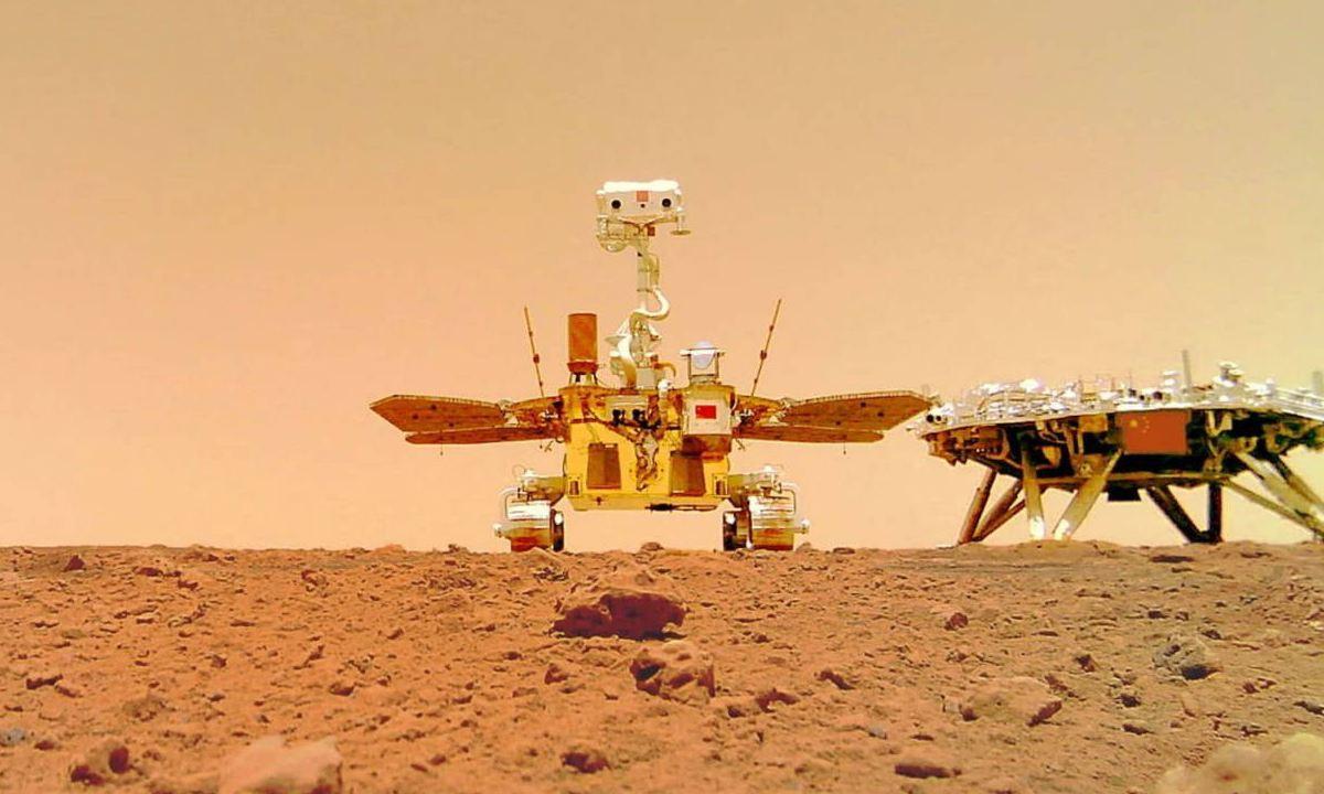 Rover zhurong Marte CNSA