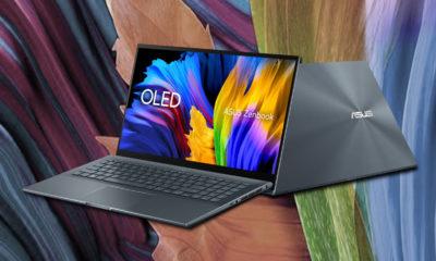 El nuevo ASUS Zenbook 15 equipará un Ryzen 9 5900HX, GeForce RTX 3050 Ti y pantalla OLED 4K 42