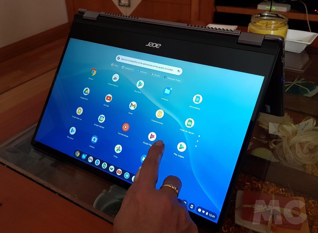 Analizamos el Chromebook Spin 514, el primero de Acer con Ryzen Mobile 43
