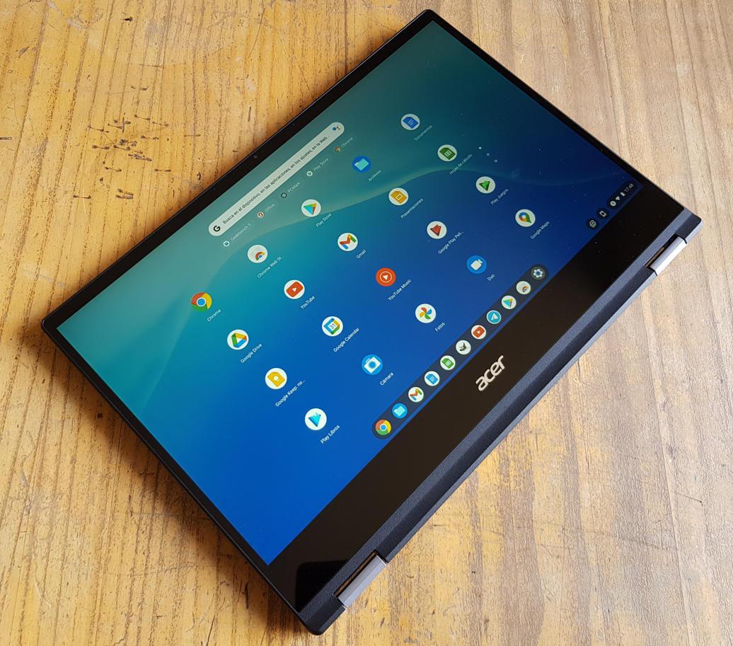 Analizamos el Chromebook Spin 514, el primero de Acer con Ryzen Mobile 65