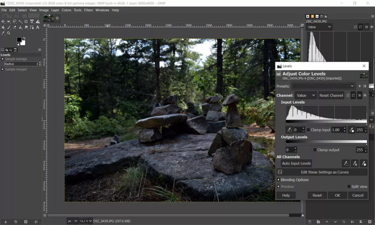 Alternativas Adobe Photoshop GIMP