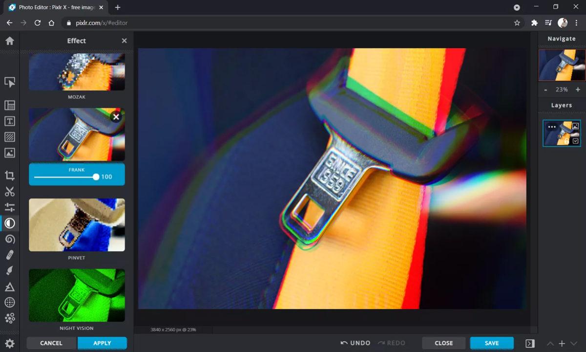 Alternativas Adobe Photoshop Pixlr X