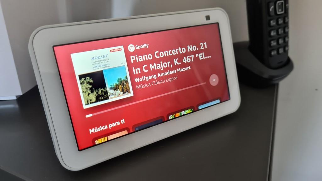 Amazon Echo Show 5 segunda generación, ventana discreta 36