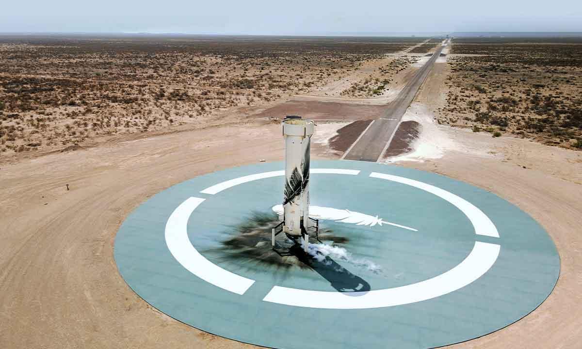 Cómo ver el vuelo de Blue Origin con Jeff Bezos