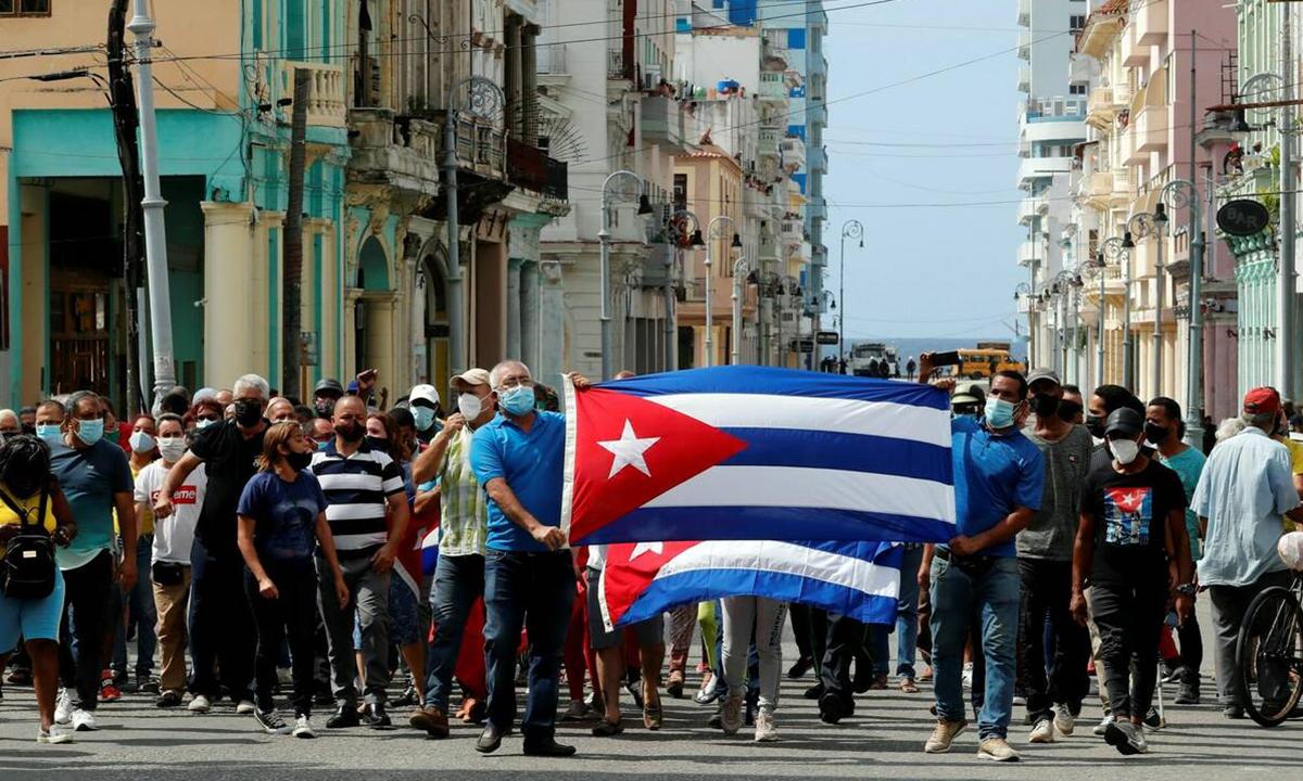 Cuba bloquea Internet y redes sociales