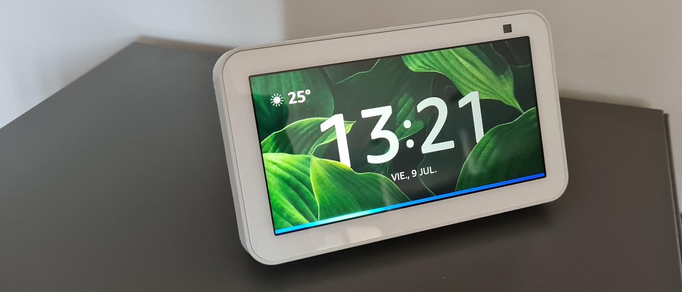 Amazon Echo Show 5 segunda generación, ventana discreta 30