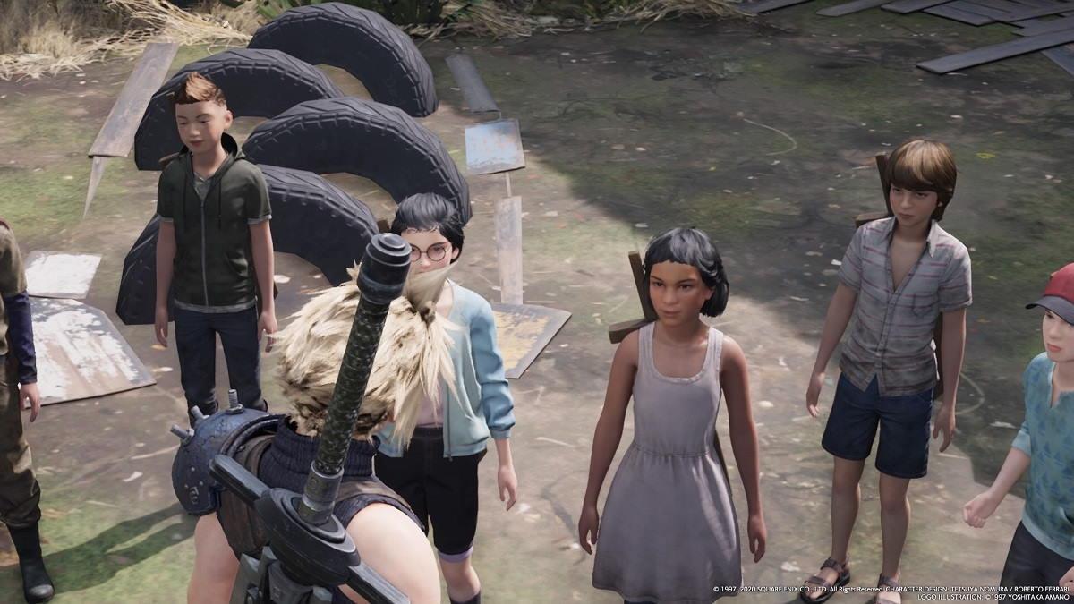 FINAL FANTASY VII remake NPCs