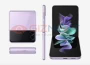 Galaxy Z Flip 3 Renders