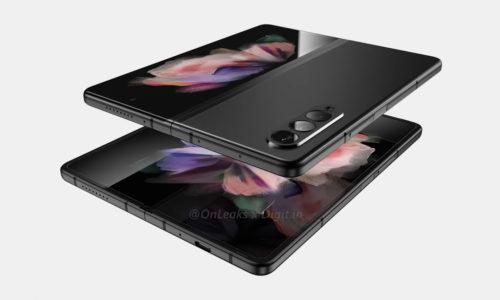 Galaxy Z Fold 3 Renders