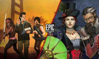 Juegos Gratis Epic Games Bridge Constructor Walking Dead y Ironcast