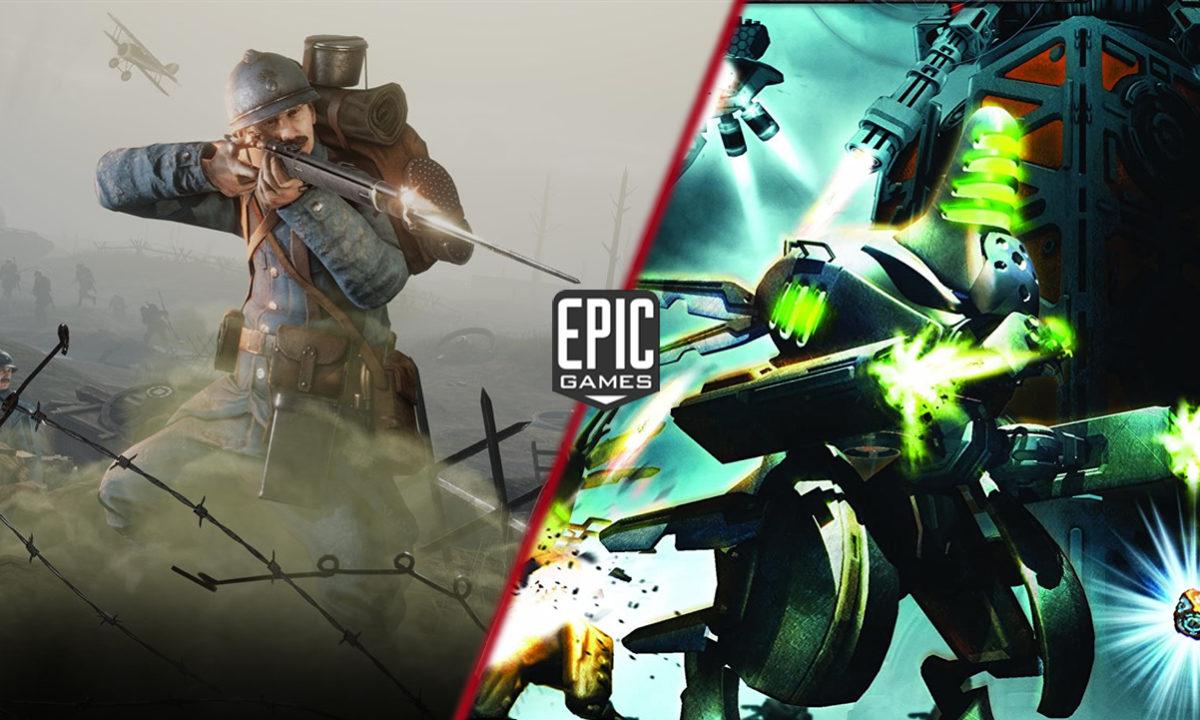 Juegos Gratis Epic Games Store Verdun y Defence Grid