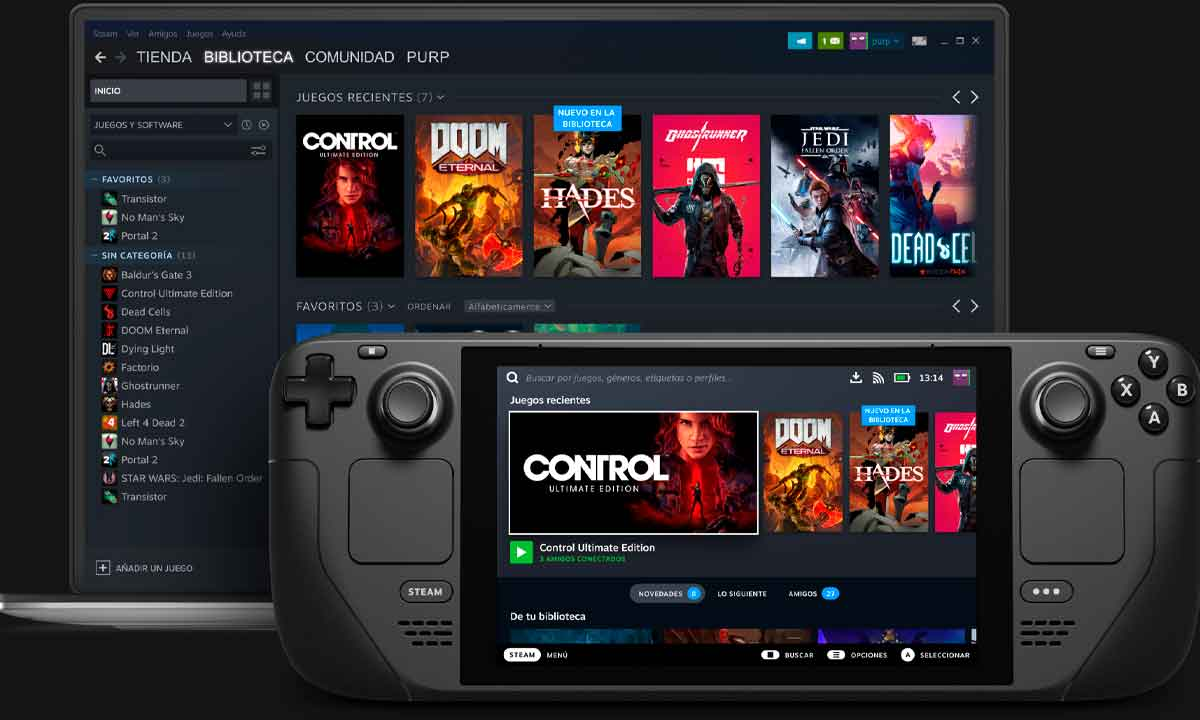 Steam Deck, Steam's portable console is now official