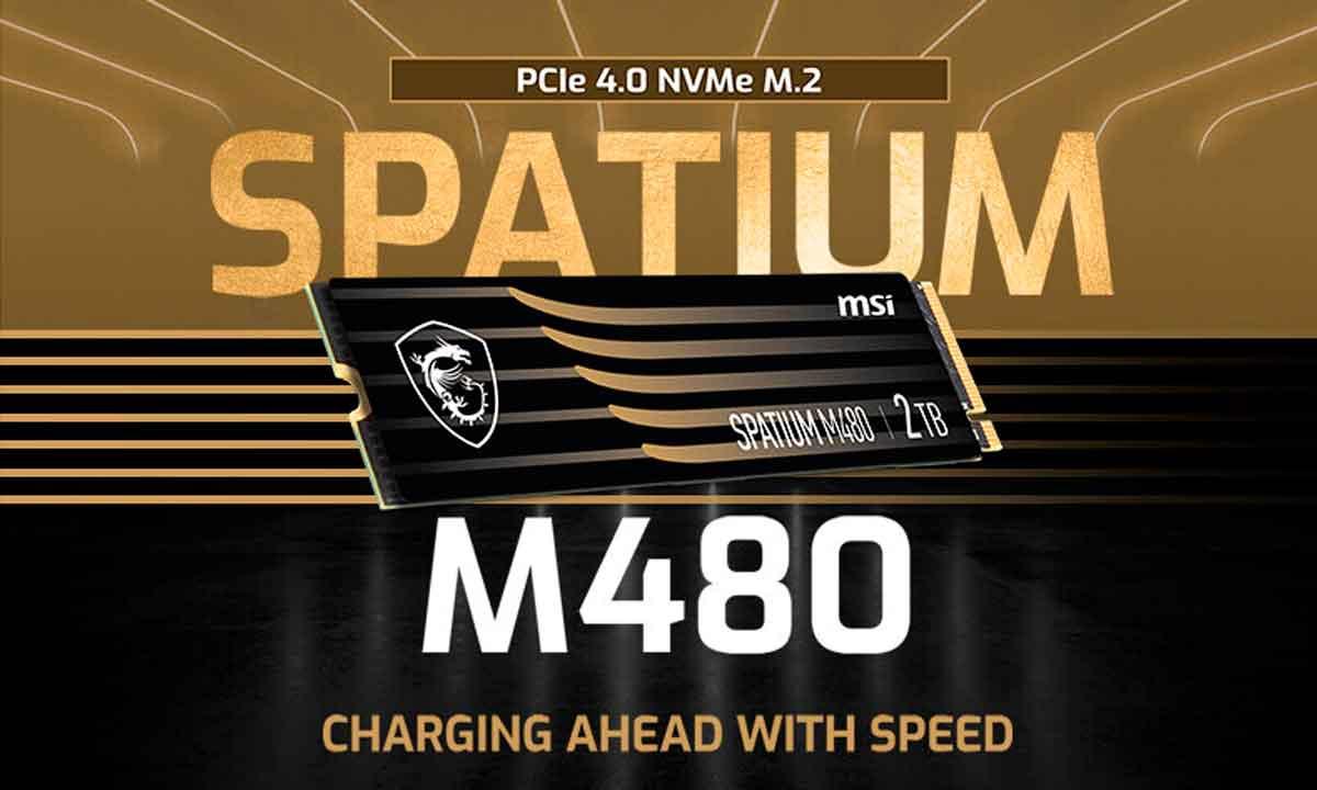 MSI SPATIUM: nuevas SSD M.2 2280 NVMe para el mercado de consumo