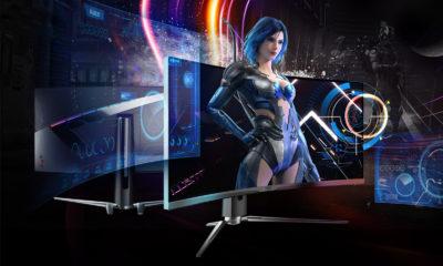 MSI anuncia sus nuevos monitores gaming curvos Artymis 323CQR y 273CQR 44
